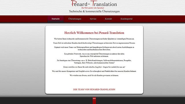 Webdesign Augsburg für Dienstleister Übersetzungsbüro