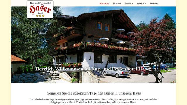 Webdesign Augsburg für Hotel und Gastronomie