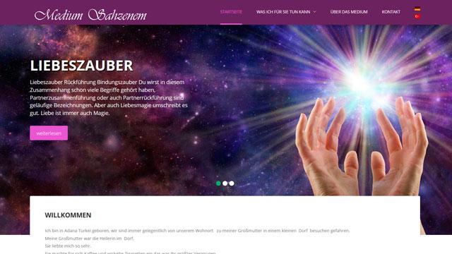 Webdesign Augsburg für Wahrsager