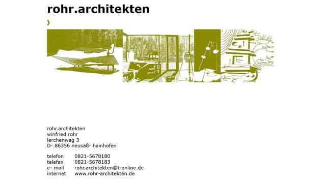 Webdesign Augsburg für Architekten
