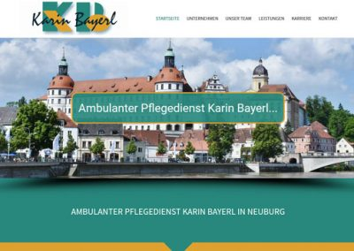 Ambulanter Pflegedienst Karin Bayerl in Neuburg