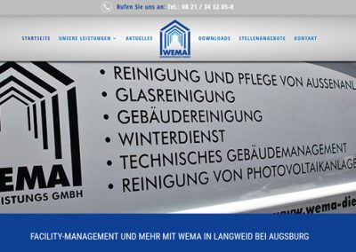 Facility-Management WEMA in Langweid bei Augsburg