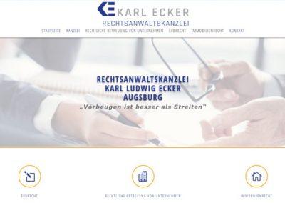Rechtsanwaltskanzlei Karl Ludwig Ecker, Augsburg