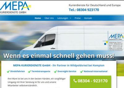 MEPA KURIERDIENSTE GmbH – Wildpoldsried bei Kempten