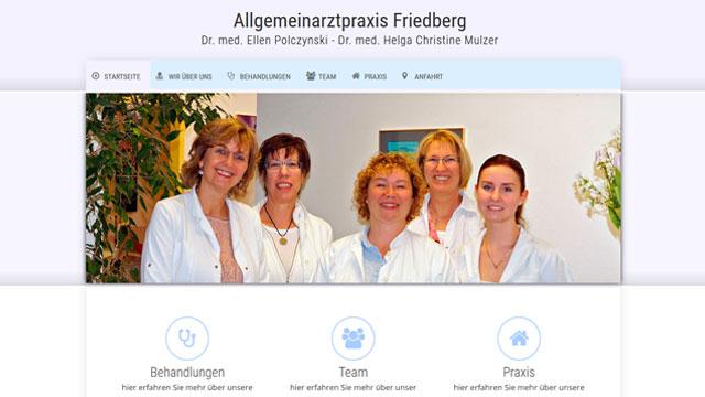 Webdesign Augsburg für Hausarzt