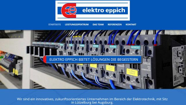 Webdesign Augsburg für Elektrotechnik