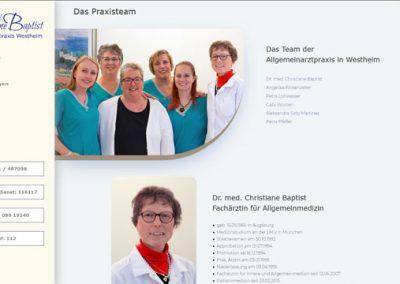 Dr. med. Christiane Baptist – Allgemeinarztpraxis Westheim bei Augsburg
