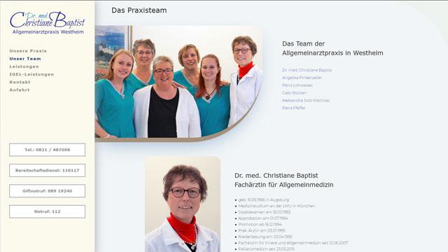 Professionelle mehrsprachige Homepage Augsburg