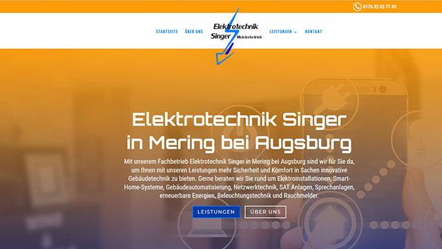Elektrotechnik Singer in Mering bei Augsburg