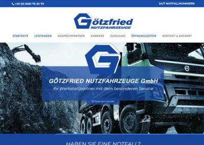Götzfried Nutzfahrzeugen in Mindelheim