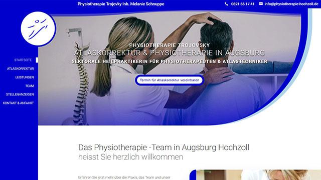 Das Physiotherapie Augsburg Hochzoll