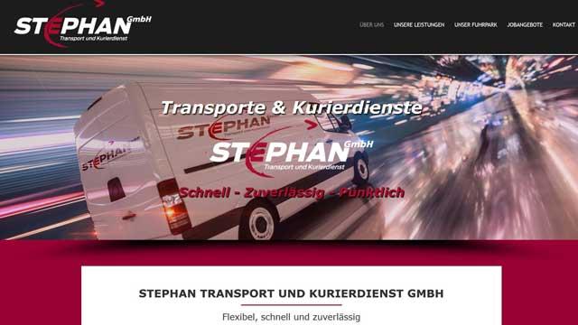 Transporte &  Kurierdienste Stephan GmbH Augsburg – Landsberg