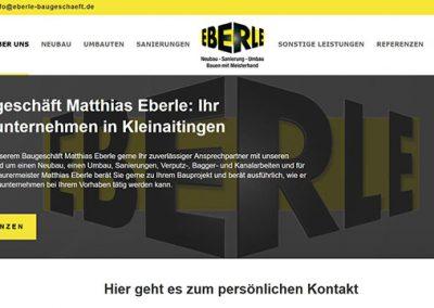 Eberle Baugeschäft – Neubau Sanierung Umbau aus Kleinaitigen