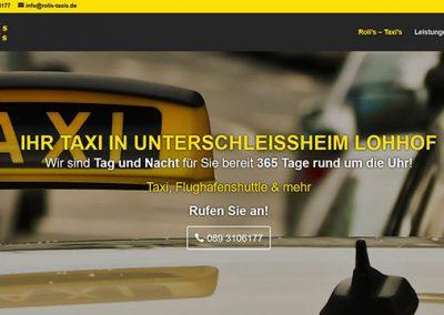Roli´ s Taxi´ s – Taxi Unterschleißheim