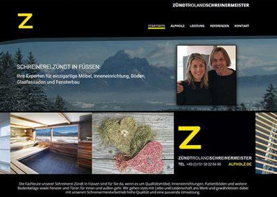Alpholz – Schreinerei Zündt in Füssen