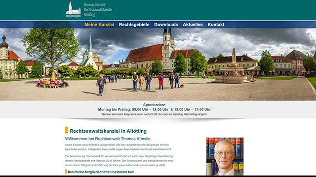 Homepage erstellen lassen Altötting
